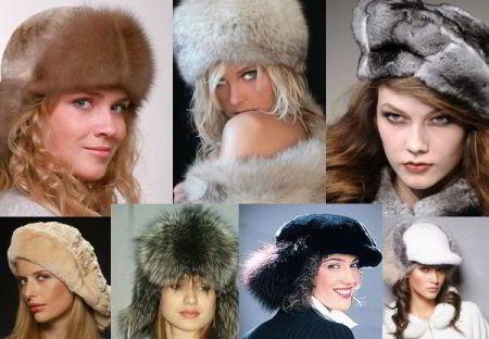 Мужская меховая шапка зима